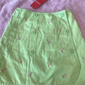 NWt gymboree palm spring reversible skirt 5  2in1